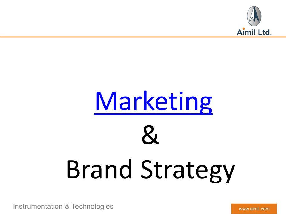 Marketing & Brand Strategy
