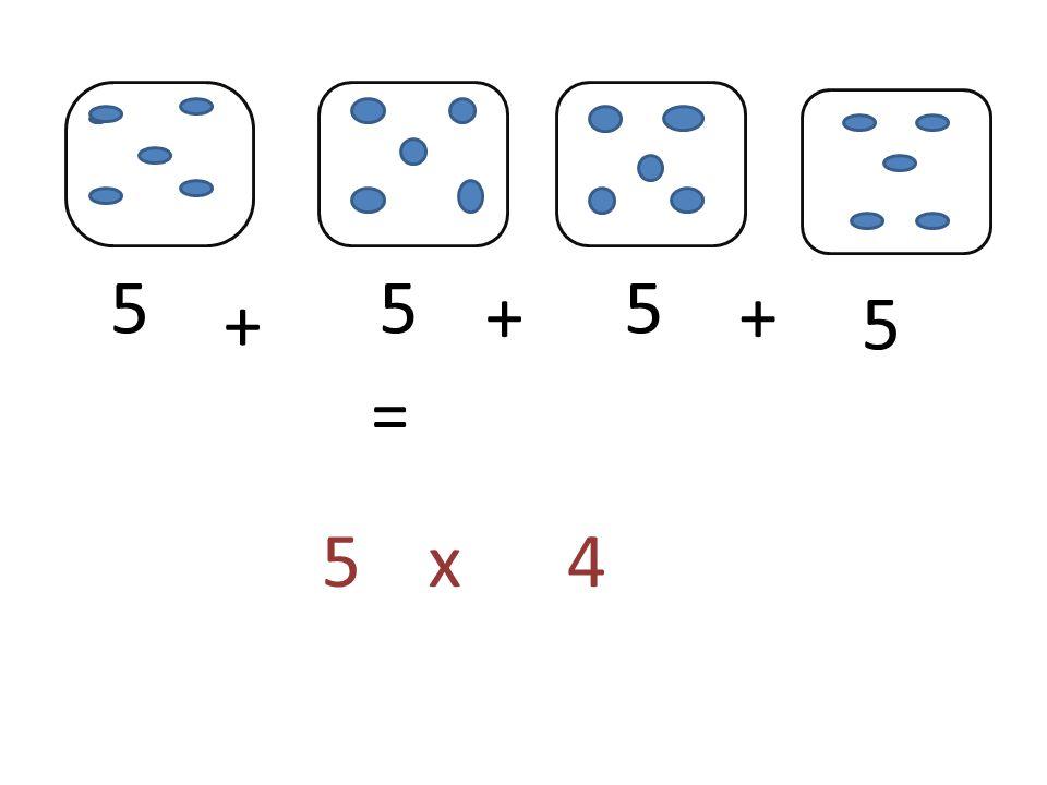 555 5 + ++ = 5x4