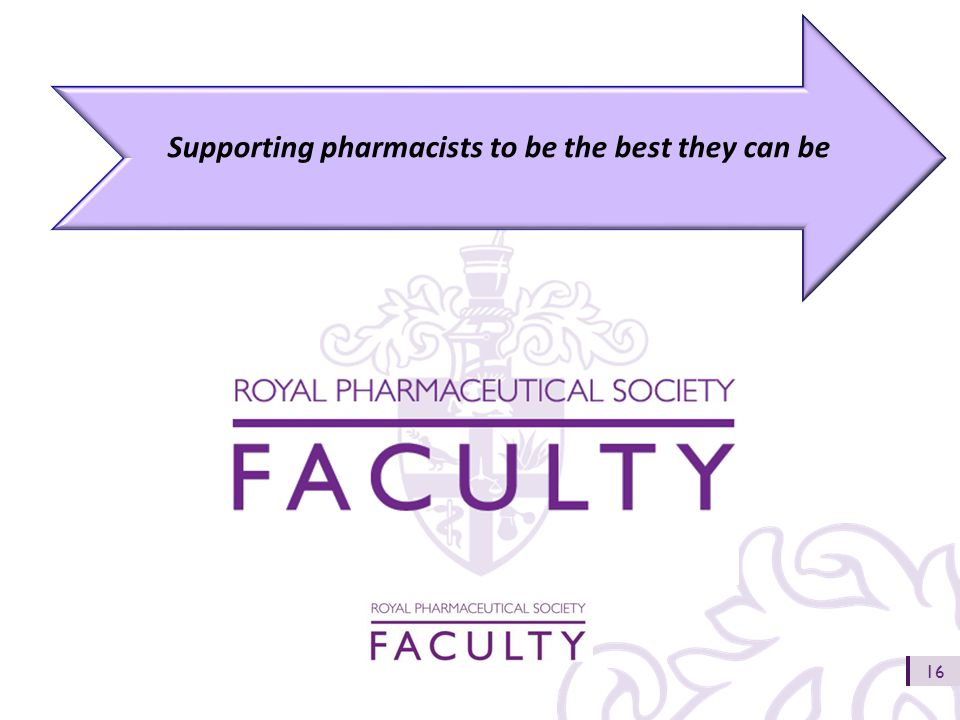 16 Supporting pharmacists to be the best they can be