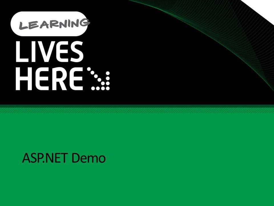 ASP.NET Demo