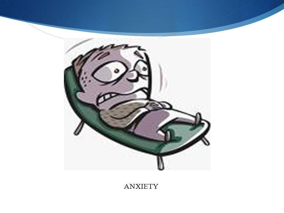Anxiety ANXIETY