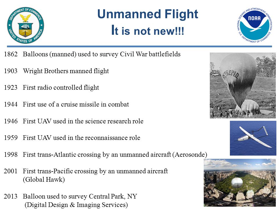 Concept of Operations Why Unmanned Systems.