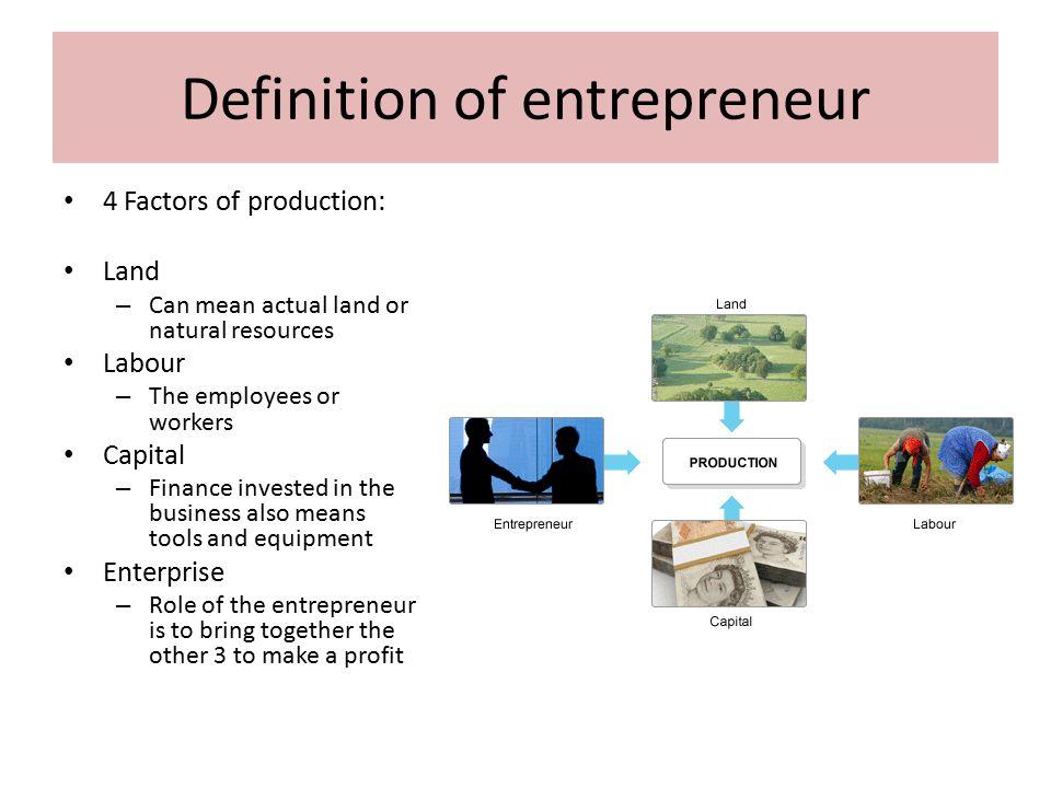 Entrepreneurship Essay Example