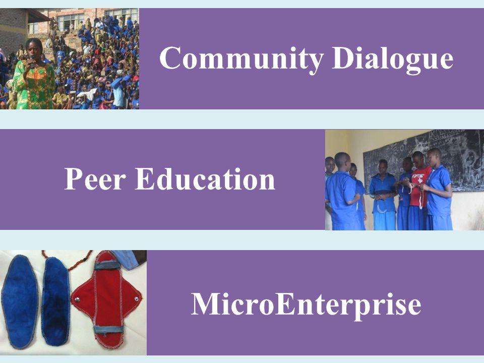Community Dialogue MicroEnterprise Peer Education