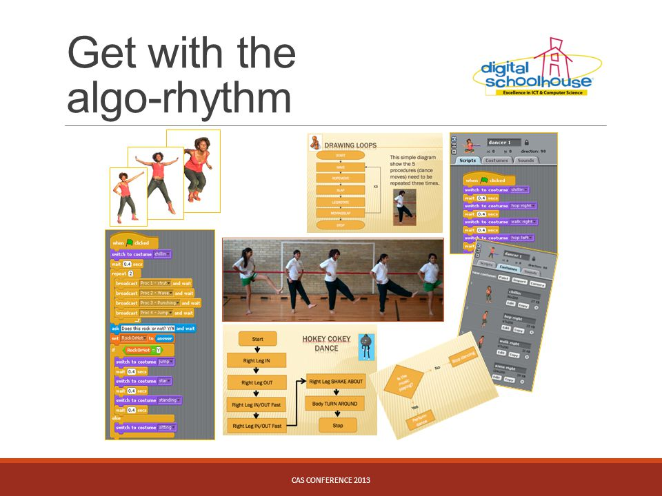 Get with the algo-rhythm CAS CONFERENCE 2013