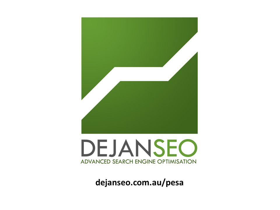 dejanseo.com.au/pesa