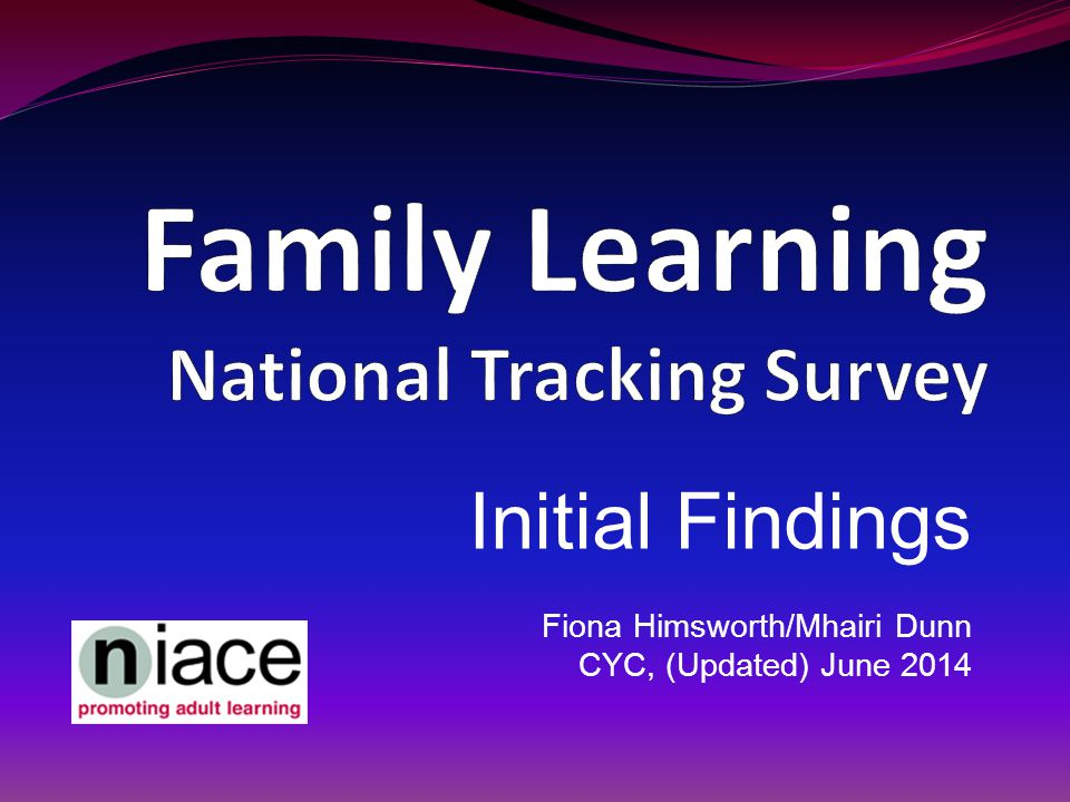 Initial Findings Fiona Himsworth/Mhairi Dunn CYC, (Updated) June 2014