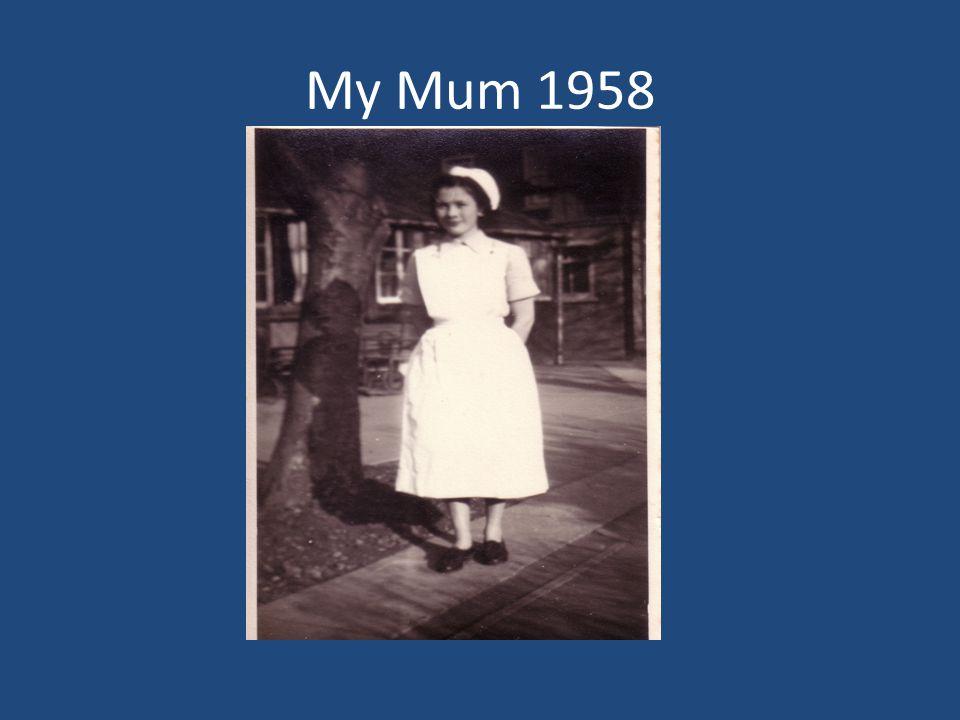 My Mum 1958
