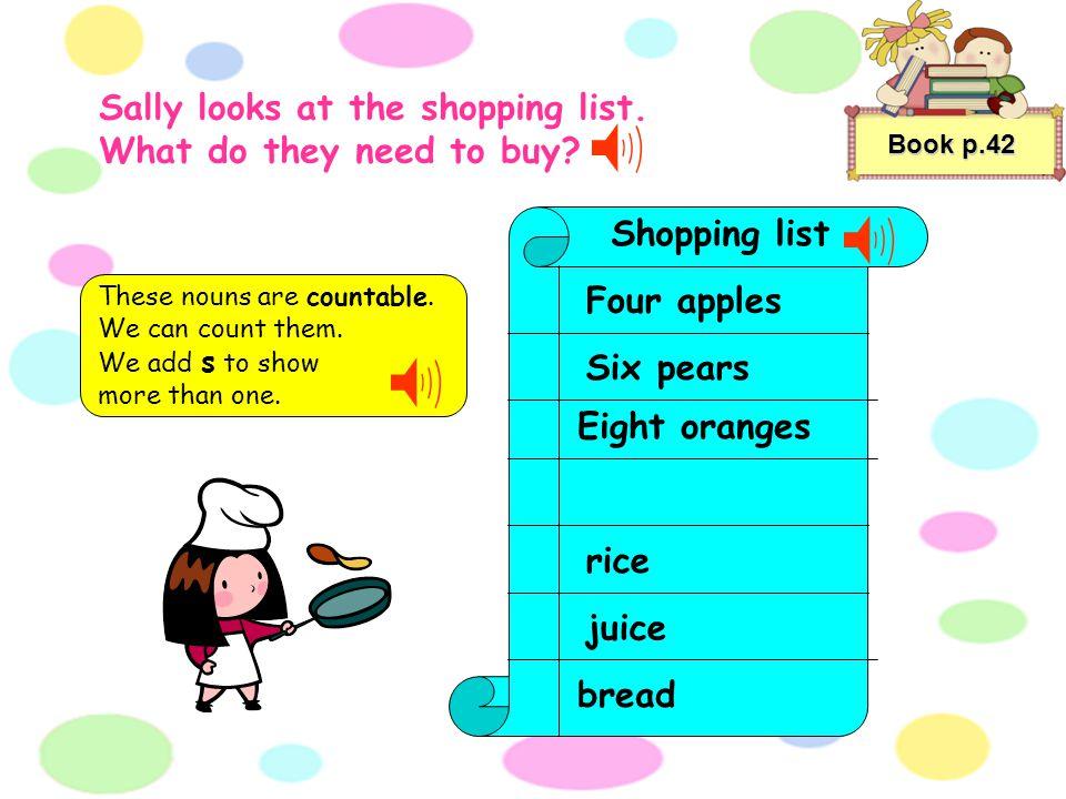 bread juice oil rice Book p.41