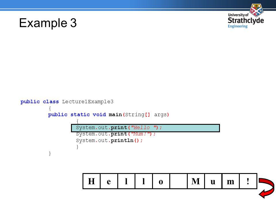 Example 3 HelloMum.