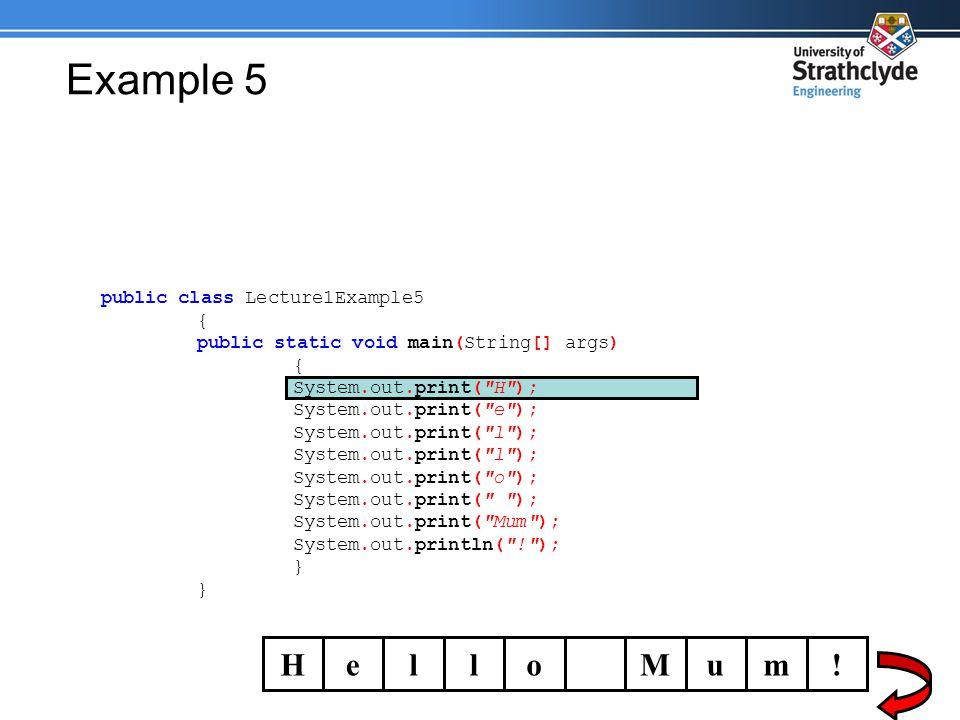 Example 5 HelloMum.