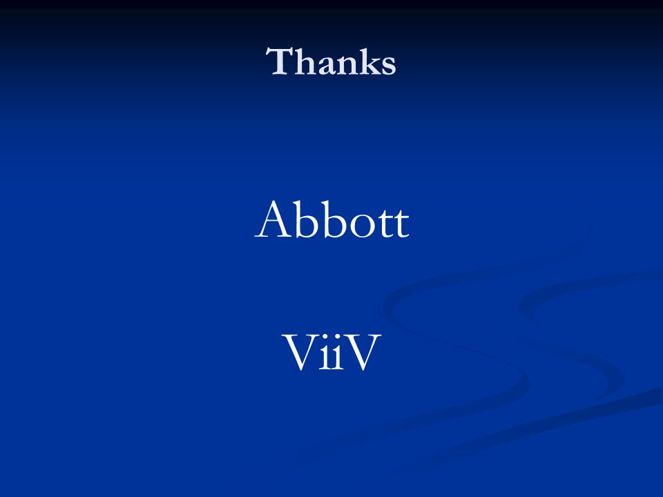 Thanks Abbott ViiV
