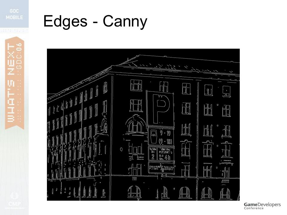Edges - Canny