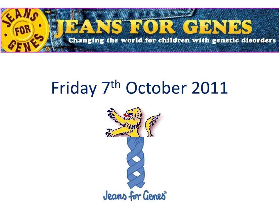 Friday 7 th October 2011