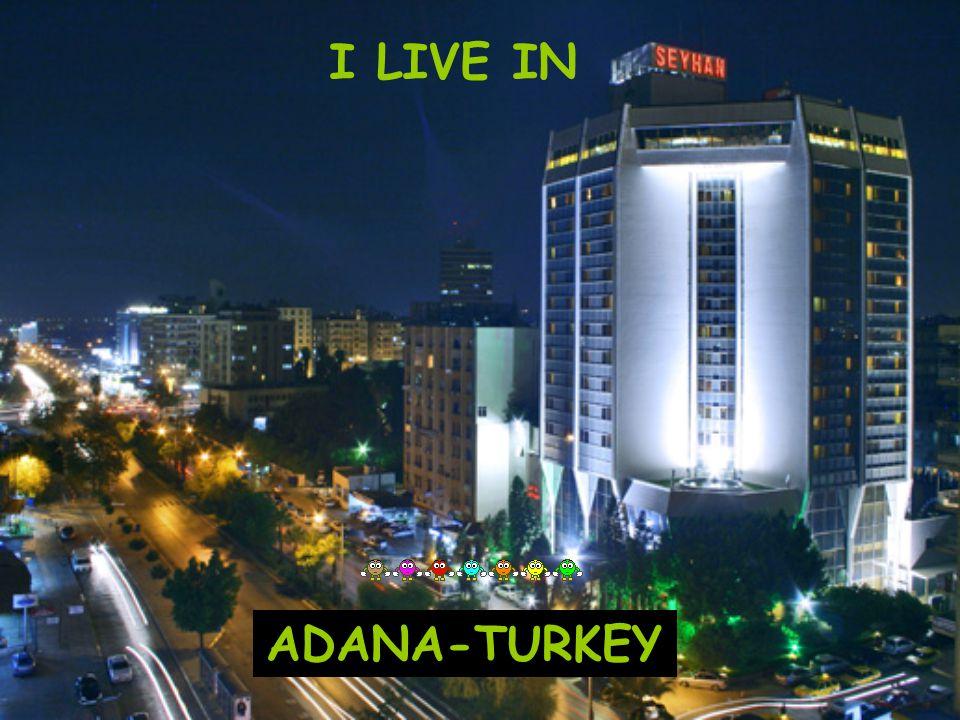 I LIVE IN ADANA-TURKEY