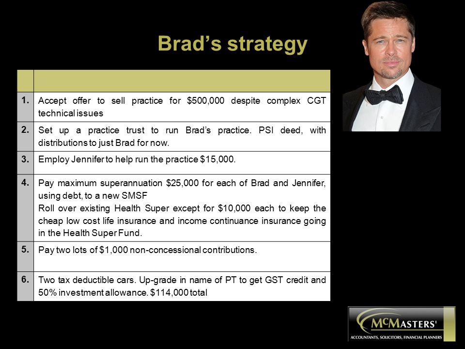 Brad's strategy 1.