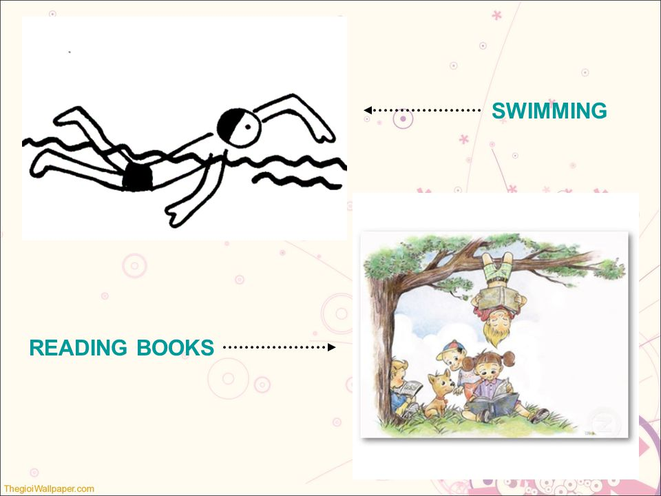 SWIMMING READING BOOKS
