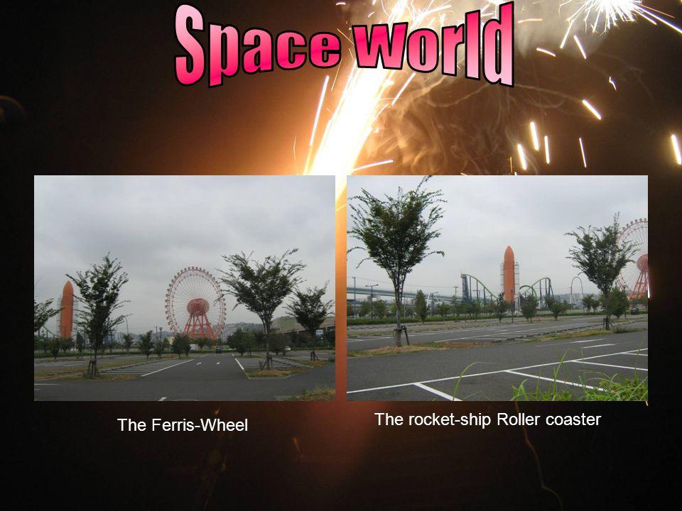 The Ferris-Wheel The rocket-ship Roller coaster