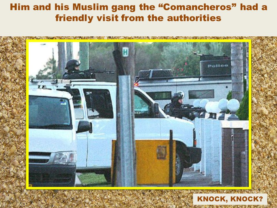 Comanchero boss Mahmoud 'Mick' Hawi another good Muslim boy with a $100,000 BOUNTY on his head – I wonder what for?