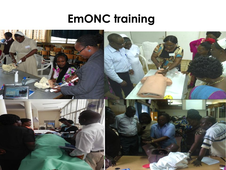 Reproductive and Maternal Health Services Unit EmONC training
