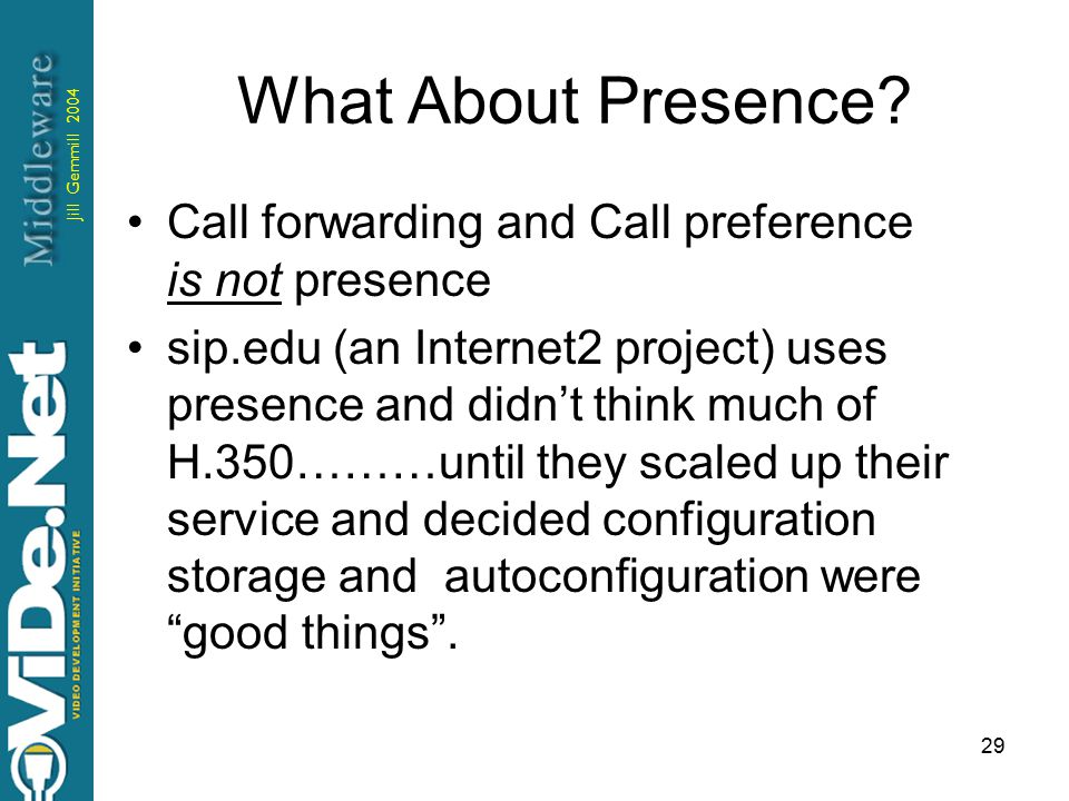 Jill Gemmill 2004 29 What About Presence.