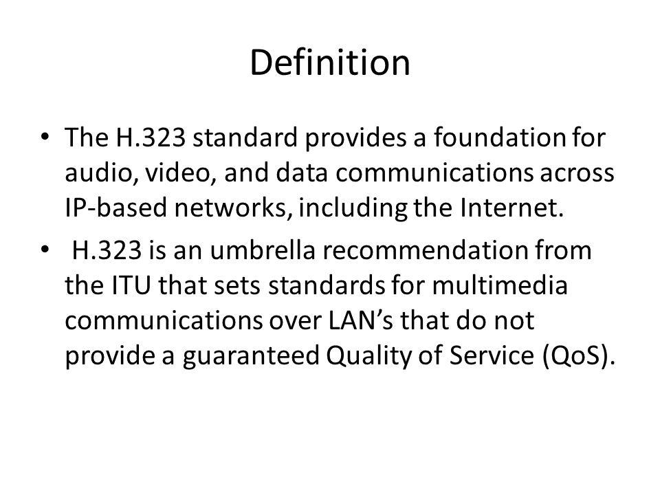H. 323 Zone