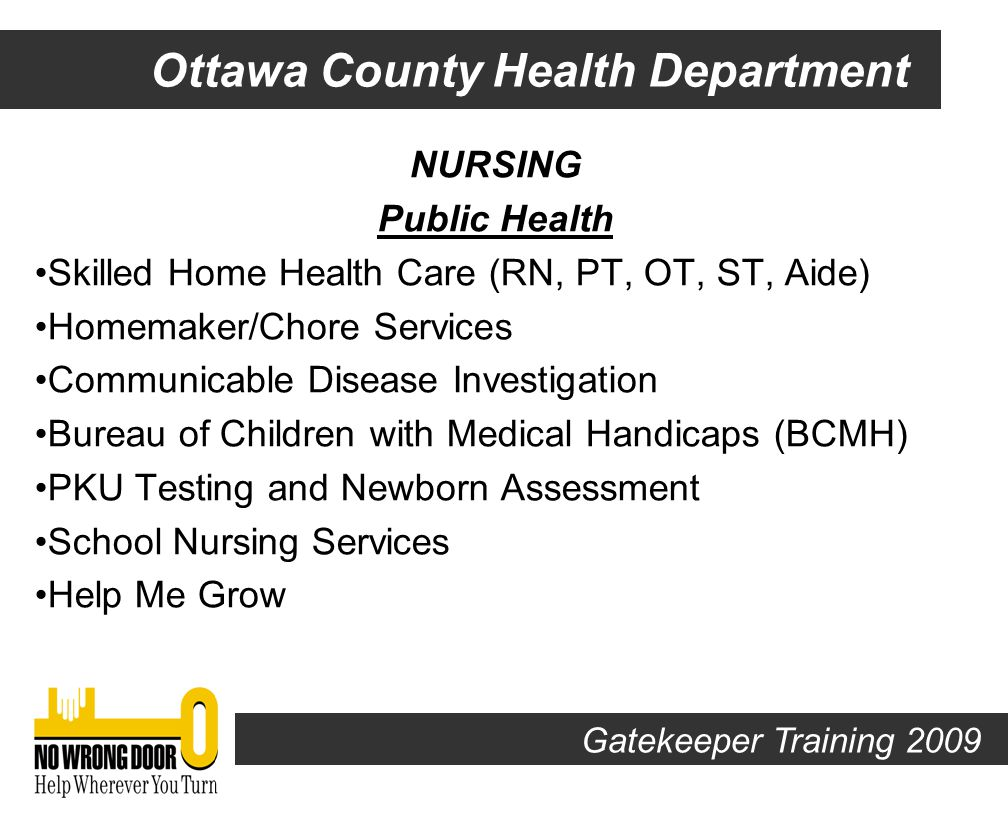 http://www.ottawahealth.org Our Organization Our Services Board of Health Home All Rights Reserved Ottawa County Health Department 1856 E.