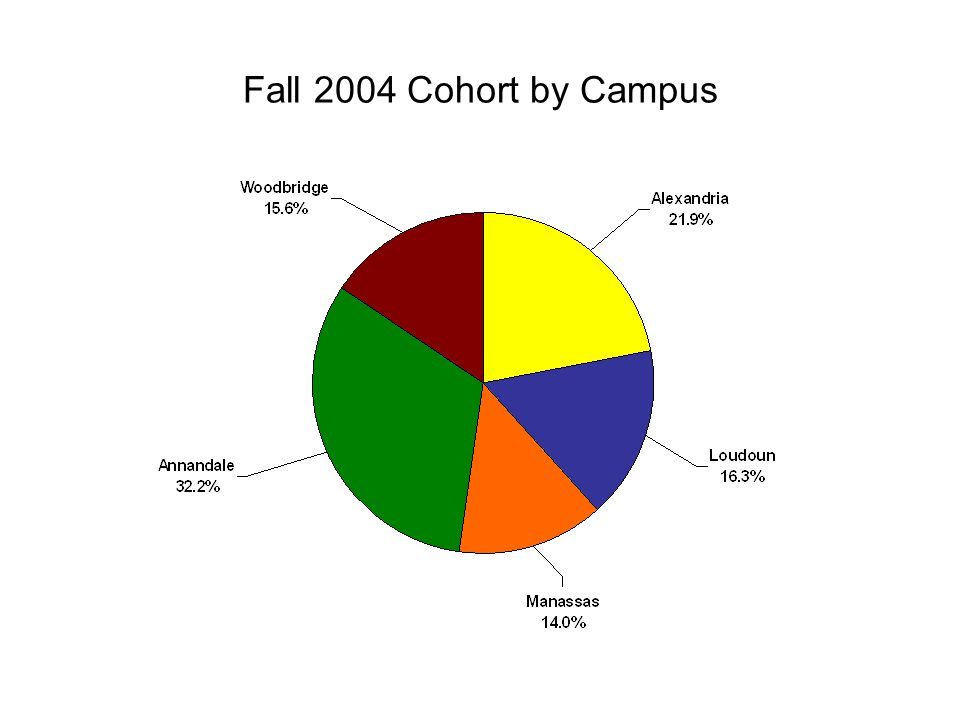 Course Completion Rate of Fall 2004 Cohort by Age 5861,54611,8301,5831,71446053
