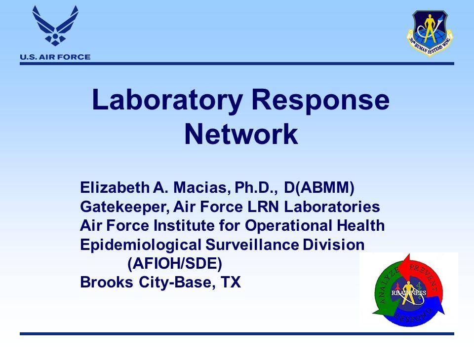 Laboratory Response Network Elizabeth A.