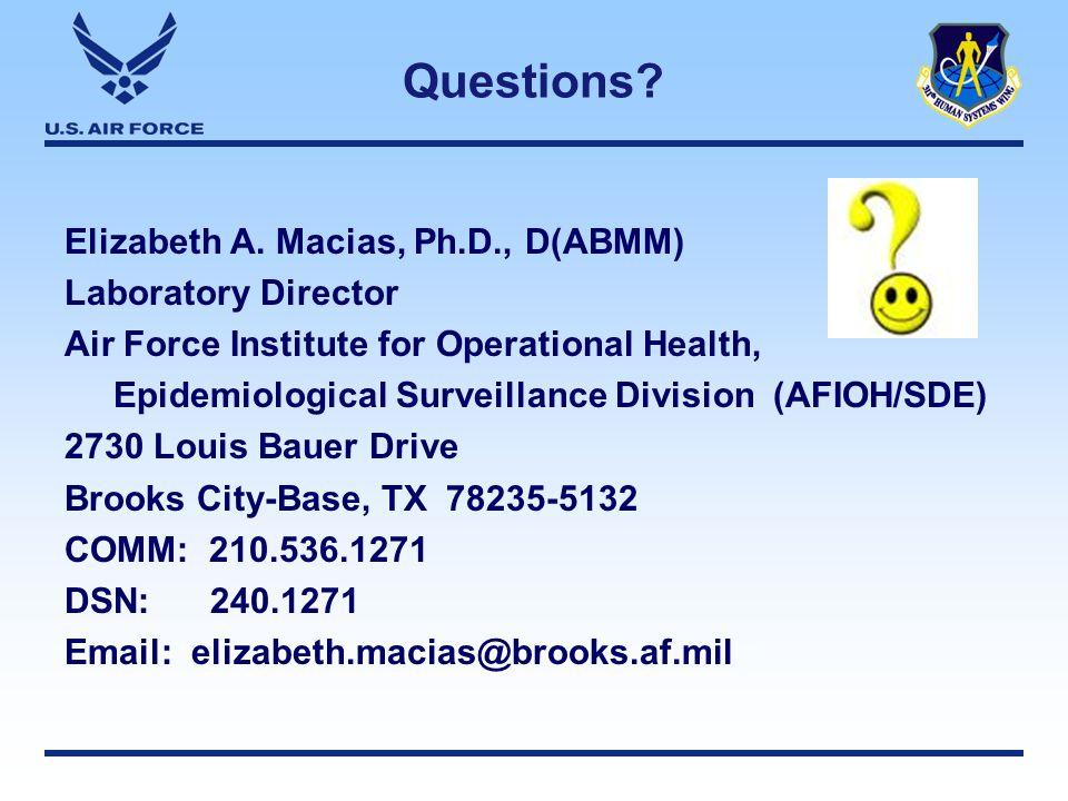 Questions. Elizabeth A.