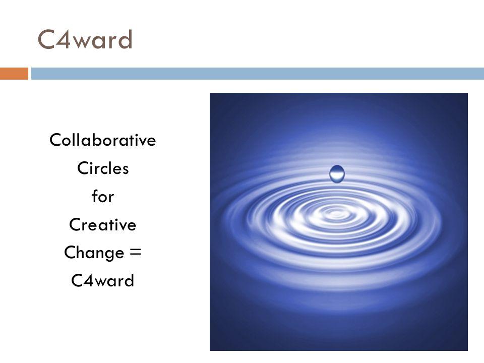 C4ward Collaborative Circles for Creative Change = C4ward