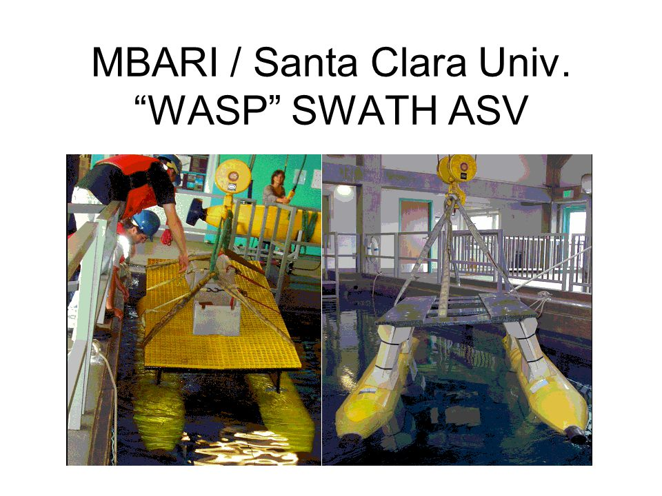 MBARI / Santa Clara Univ. WASP SWATH ASV