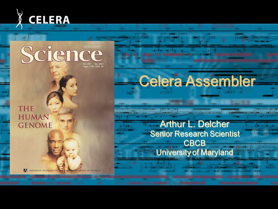 Slides by Art Delcher, Mike Schatz, and Adam Phillippy Center for Bioinformatics and Computational Biology Univ.