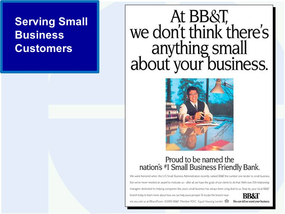 Serving Small Business Customers