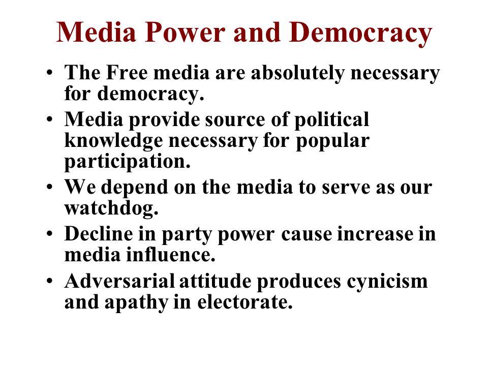 11-6 Public Trust of Media