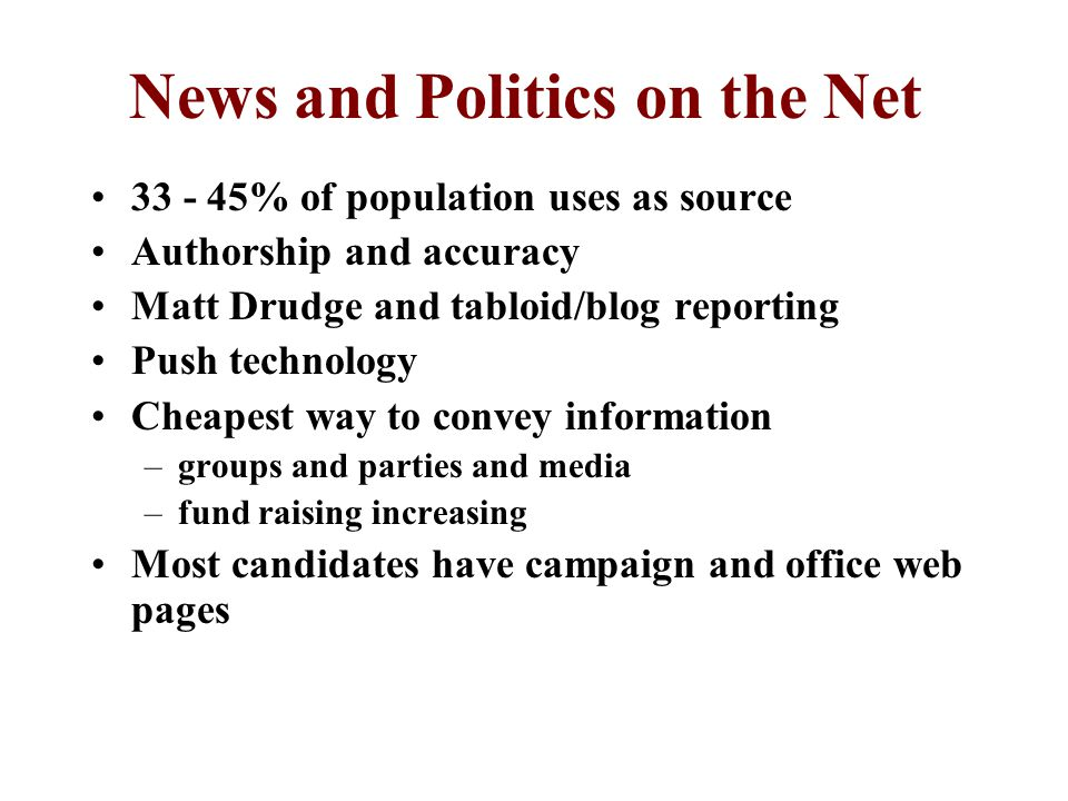American's Primary News Source