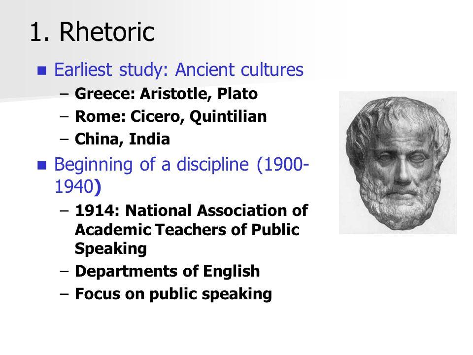1.Rhetoric, cont.