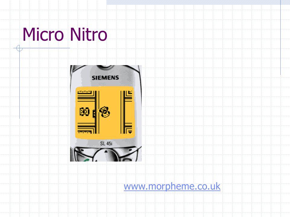 Micro Nitro www.morpheme.co.uk