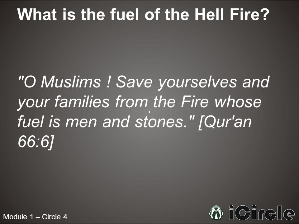 Module 1 – Circle 4 What is the fuel of the Hell Fire.