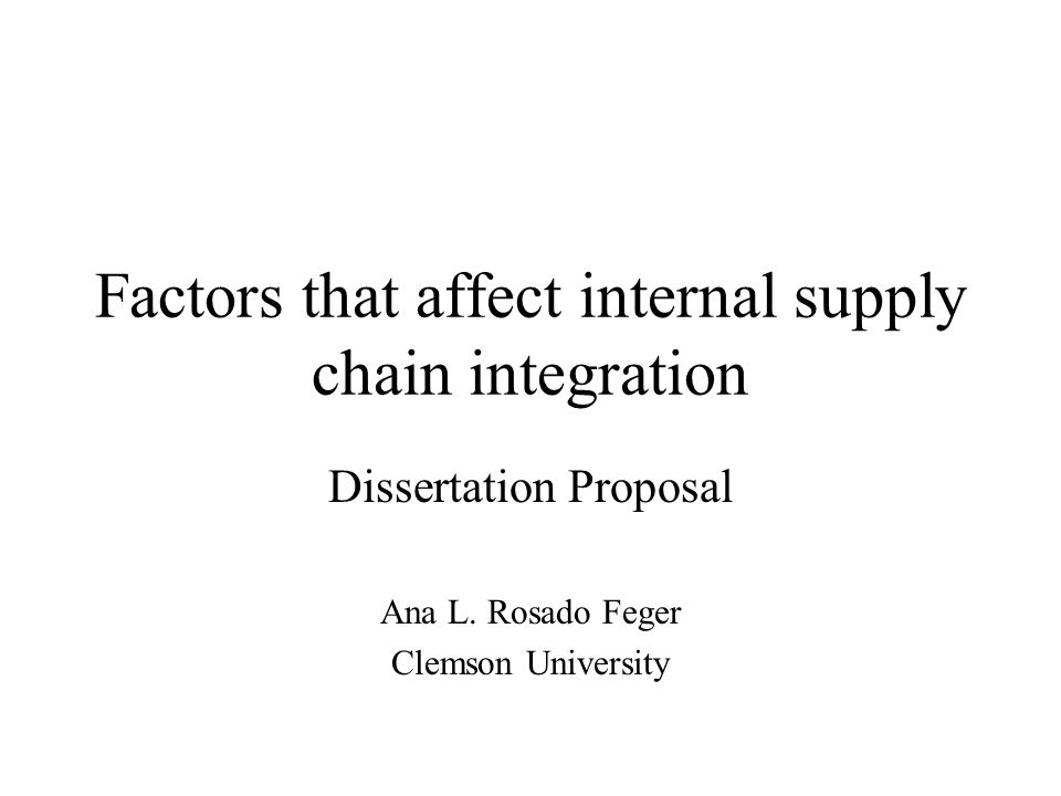 Motivation Competition based on Supply Chain vs.