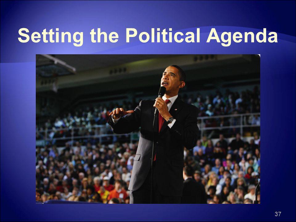Setting the Political Agenda 37