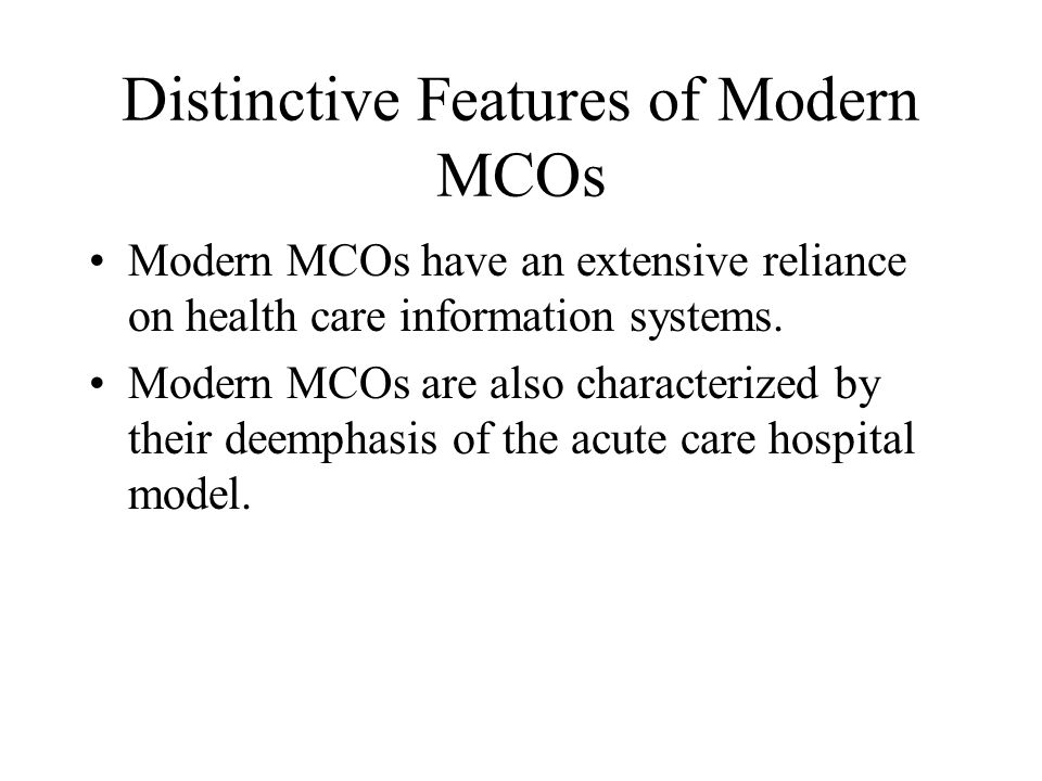 Managed Care Contracts with Physicians Most HMO and POS plans pay their network physicians on a capitation basis.