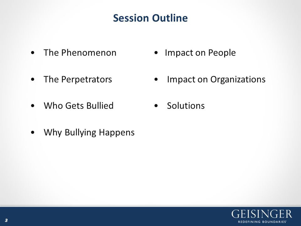 34 Cost of Bullying – Tangible Costs Increased sickness and 26% higher absenteeism and presenteeism Reduced performance / productivity including damage to equipment Increased mistakes and accidents More premature retirements and higher turnover requiring more recruitment, training, and advertising Increased payments for Workers' Compensation benefits, disability, and healthcare benefits Increased health and social welfare costs More expensive grievance, litigation, compensation, and liability insurance