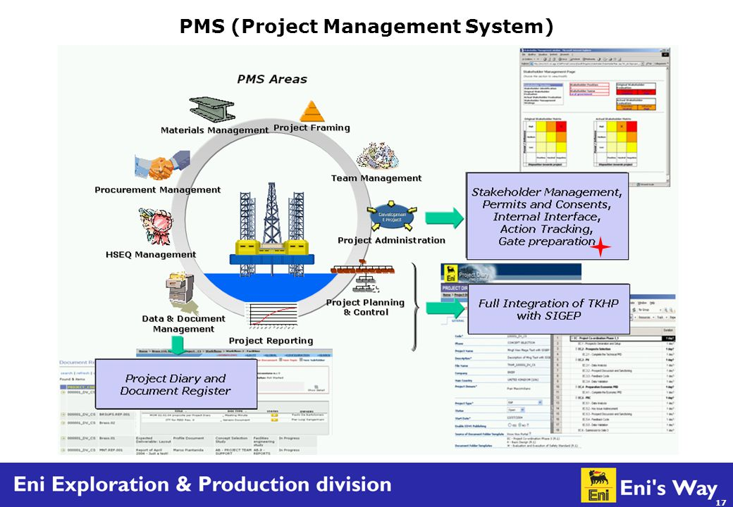17 PMS (Project Management System)