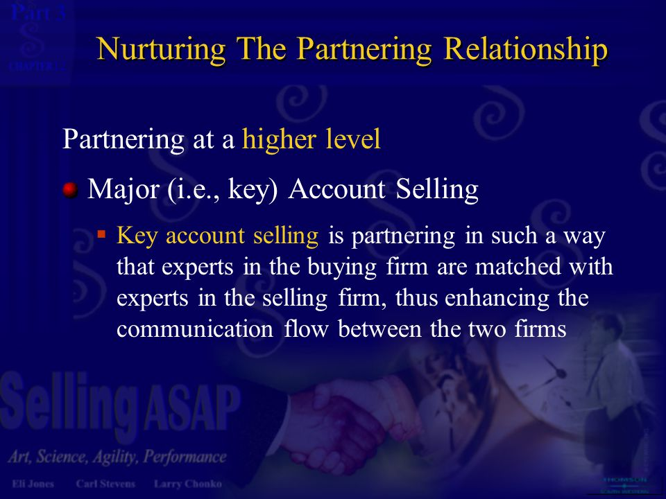 3 12 Size of Account Strategic accounts will likely be large accounts, with sales volume as the determinant of size  Some minimum volume requirements must be established Often the largest account in terms of sales volume is not the most profitable account Only the most profitable accounts can justify the higher expenditure in resources dedicated to these partnerships