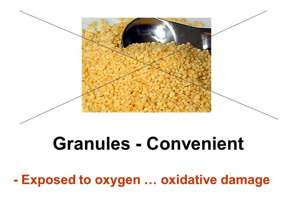 Granules - Convenient