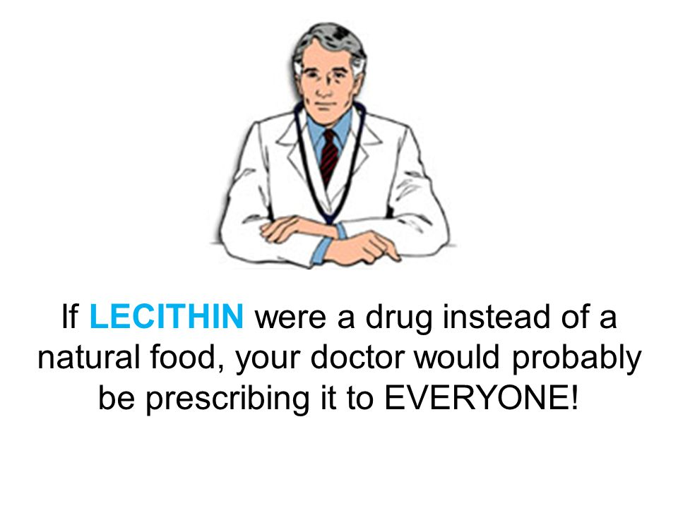 2. Lecithin … the Brain Tonic