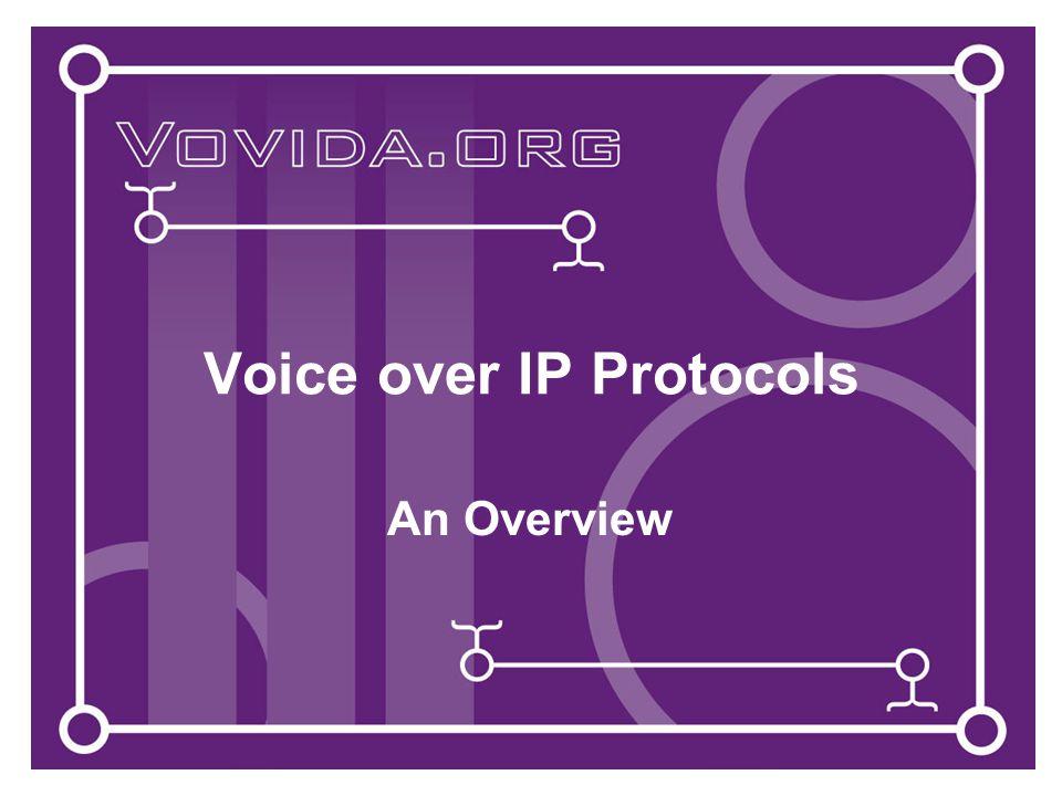 Version 2 - March 9, 200122 Integration with IETF Protocols (2) SDP Session Description Protocol – for describing multimedia sessions.