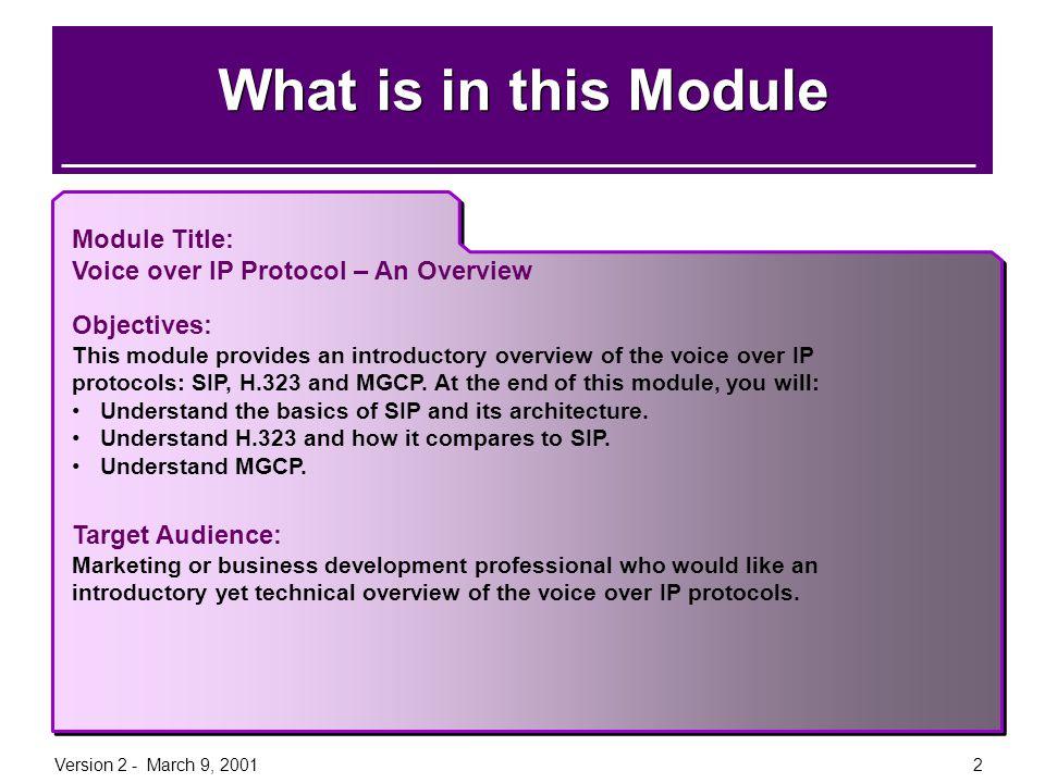 Version 2 - March 9, 200113 Registrar Server A server that accepts REGISTER requests.