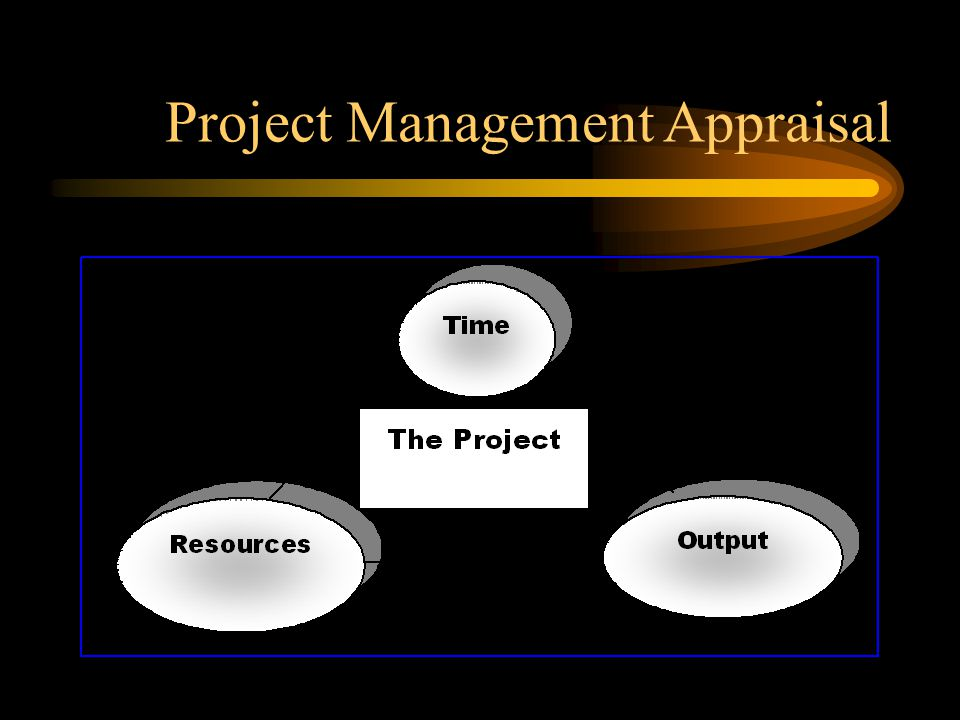 Project Management Appraisal